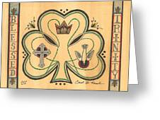 Blessed Trinity Greeting Card