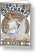 Bleu Deschamps Greeting Card
