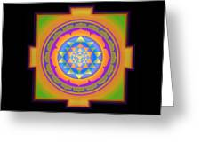 Bliss Yantra Greeting Card