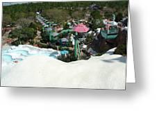 Blizzard Ski Lifts Greeting Card