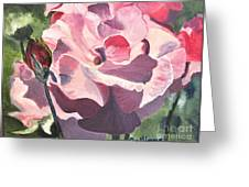 Bloomed Rose Greeting Card