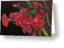 Bloomin' Red Greeting Card