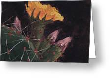 Blossom And Needles - Art By Bill Tomsa Greeting Card