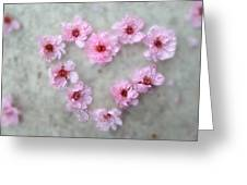 Blossoming Love Greeting Card