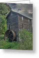Blowing Cave Mill Greeting Card by Janice Spivey
