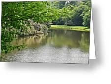 Blowing Rock Lake Greeting Card