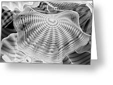 Blown Glass Infrared Greeting Card
