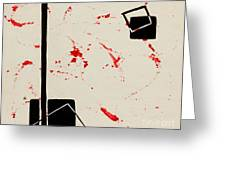 Bludgeoned Greeting Card