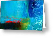 Blue #2 Greeting Card