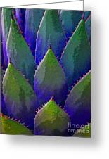Blue Agave Greeting Card