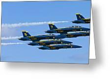 Blue Angels IIII Greeting Card