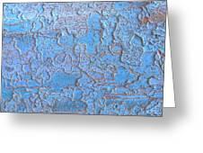 Blue Bark Greeting Card