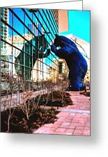 Blue Bear Convention Center 5214 Greeting Card