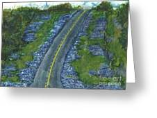 Blue Bonnet Road Greeting Card