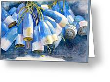 Blue Bundle Greeting Card
