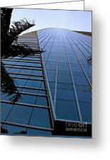 Blue Business Greeting Card