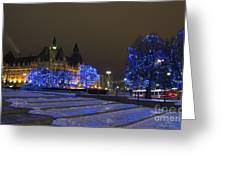 Blue Christmas.. Greeting Card