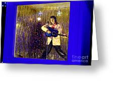 Blue Christmas Without Elvis Greeting Card