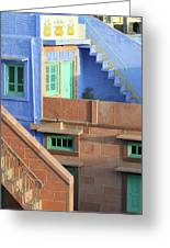 Blue City, Jodhpur, India Greeting Card