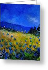 Blue Conflowers 454150 Greeting Card