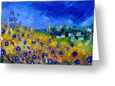 Blue Cornflowers 774180 Greeting Card