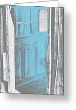 Blue Door Greeting Card