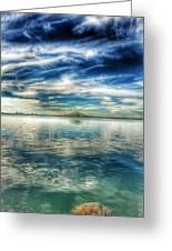 Blue Dream Fishing Greeting Card