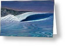 Blue Dream Greeting Card