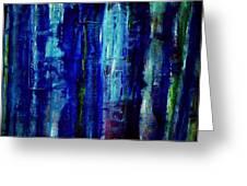 Blue Dreams Greeting Card