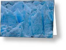Blue Glacier Greeting Card