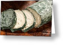 Blue Goat Cheese Greeting Card