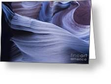 Blue Harmony Greeting Card