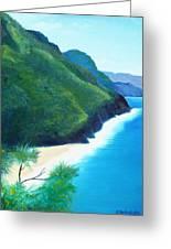 Blue Hawaii Greeting Card
