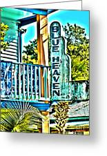 Blue Heaven In Key West - 1 Greeting Card