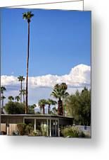 Blue Horizon Palm Springs Greeting Card