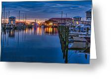 Blue Hour Beauty Greeting Card
