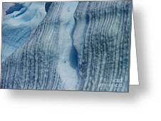 Blue Ice... Greeting Card