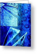 Blue   II Greeting Card