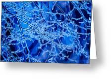 Blue Imbue 2 Greeting Card