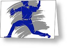 Blue Jays Shadow Player2 Greeting Card