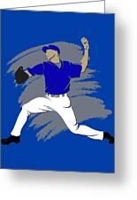 Blue Jays Shadow Player3 Greeting Card