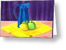 Blue Jug Greeting Card