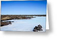 Blue Lagoon - 2 Greeting Card