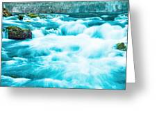 Blue Lagoon Greeting Card