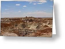 Blue Mesa - Painted Desert Greeting Card