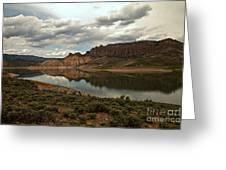 Blue Mesa Reservoir Greeting Card
