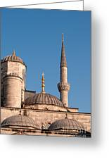 Blue Mosque 02 Greeting Card