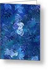 Blue - Natural Abstract Series Greeting Card