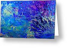 Blue Planet Greeting Card