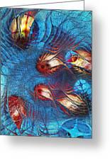 Blue Pond Greeting Card